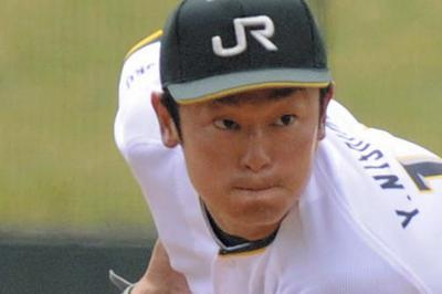 JR東日本東北の西村祐太投手=芳賀竜也撮影