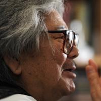 晩年の若松孝二は病魔と闘いながらも、創作意欲は衰えを知らなかった。インタビューでも「原発問題」「従軍慰安婦」「731部隊」などといった問題を「映画で描きたい」と、何度も口にしていた=久保玲撮影