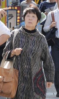 Chisako Kakehi is seen in this file photo taken in Nagaokakyo, Kyoto Prefecture, on Oct. 7, 2014. (Mainichi/Ryoichi Mochizuki)