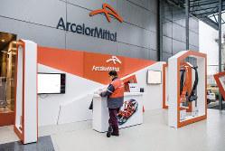 世界最大の鉄鋼メーカー、アルセロール・ミタルにとって欧州の自動車市場は大きな市場。写真はフランスにあるミタルの研究開発センター(Bloomberg)
