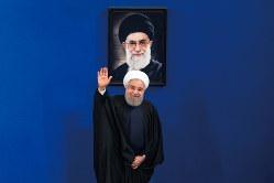 イランのロウハニ大統領(Bloomberg)