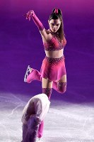 Evgenia Medvedeva performs at the
