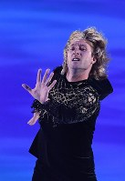Evgeni Plushenko performs at the