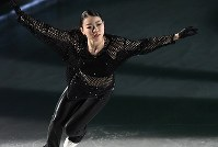 Rika Kihira performs at the