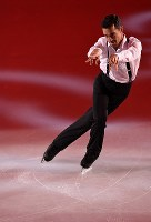 Javier Fernandez performs at the