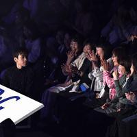 アイスショーの演技中に観客席に現れた織田信成=千葉市美浜区で2019年5月24日、竹内紀臣撮影