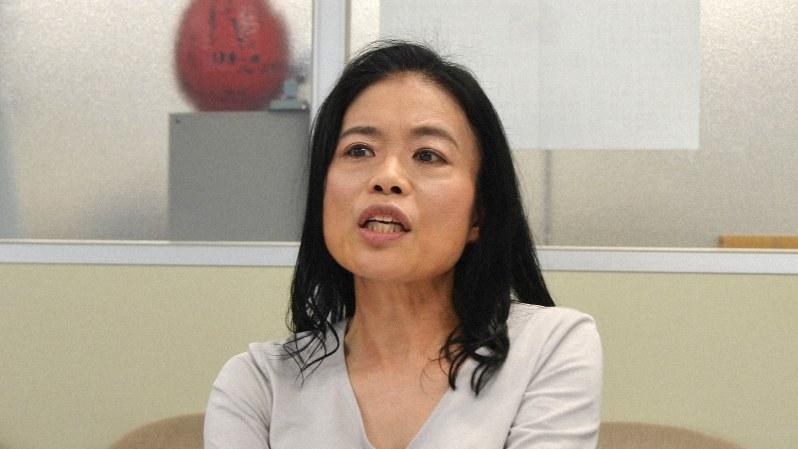 精神科医の片田珠美さん=2019年3月22日、川村彰撮影