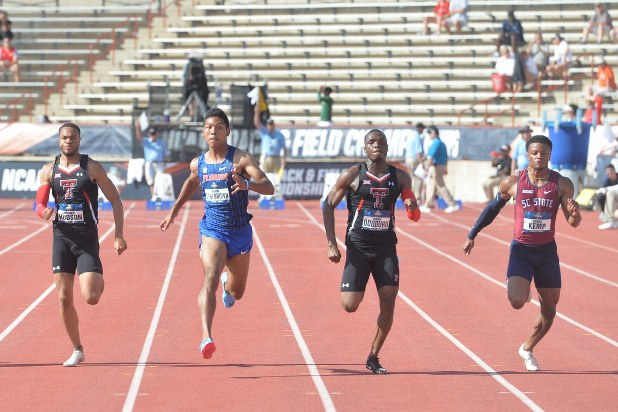 サニブラウンが100メートルで決勝進出 追い風参考記録で9秒96 全米大学 ...