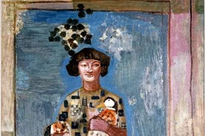 尾沢辰夫「鴨」1938年、愛知県立美術館所蔵、同館で開催中の「アイチアートクロニクル  1919ー2019」展(23日まで)より