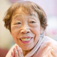 田辺聖子さん=兵庫県伊丹市で2012年3月13日、宮間俊樹撮影