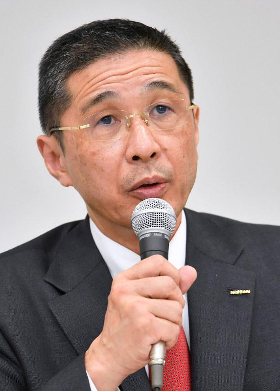 日産自動車の西川広人社長