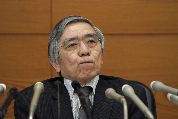 期待にはたらきかけてはいるが……。写真は黒田東彦日銀総裁