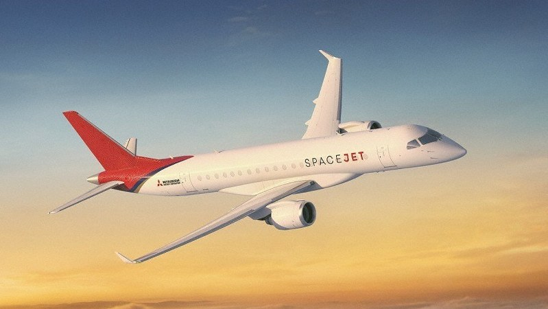 スペースジェットのイメージ図
