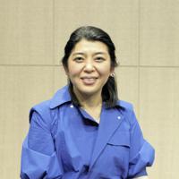 フードスタイリストの飯島奈美さん=米ロサンゼルスで2019年3月21日、ルーベン・モナストラ撮影