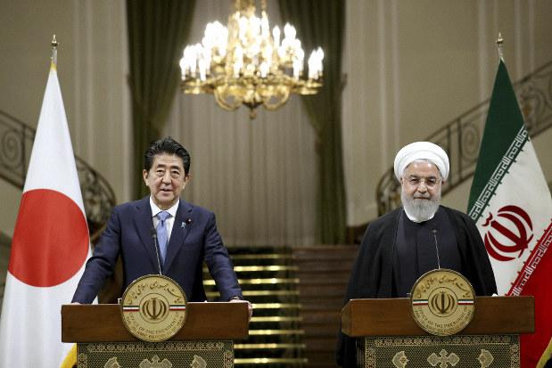 安倍 首相 イラン