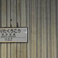 1991年に閉鎖された当時と同じ駅名表示=千葉県成田市で2019年5月1日、中村宰和撮影