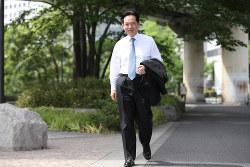 浅尾慶一郎氏=太田康男撮影