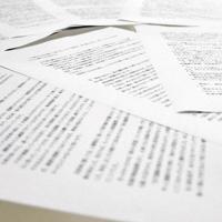 A4用紙8枚に書かれた母親からの手紙=大津市打出浜の毎日新聞大津支局で2019年6月14日午後11時44分、諸隈美紗稀撮影