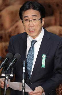 Tatsuo Hatta, chairman of the national strategic special zone working group, is seen in the Diet in this May 10, 2018 file photo. (Mainichi/Yuki Miyatake)