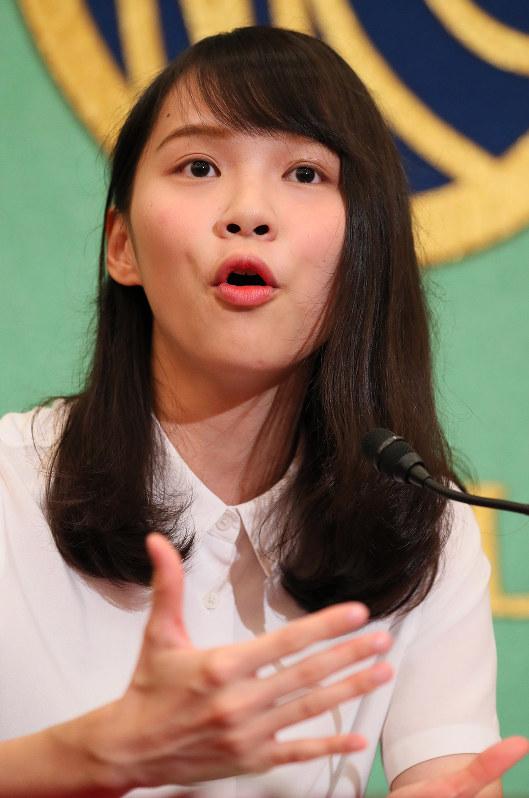 香港の「雨傘運動」を主導した学生団体の元幹部、周庭さん