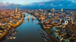 抗菌薬濃度の調査対象になった河川の一つ、英国のテムズ川