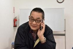 あんしんネット代表理事・斎藤正史さん=千葉県松戸市で、筆者撮影