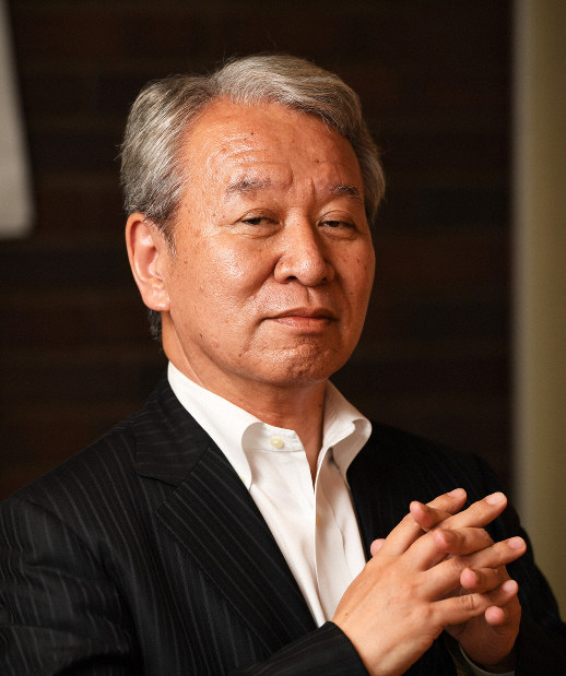National Graduate Institute for Policy Studies President Akihiko Tanaka (Mainichi)