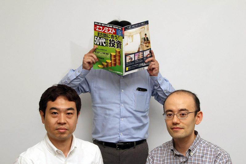 左からShimoyamaさん、rennyさん、吉田喜貴さん