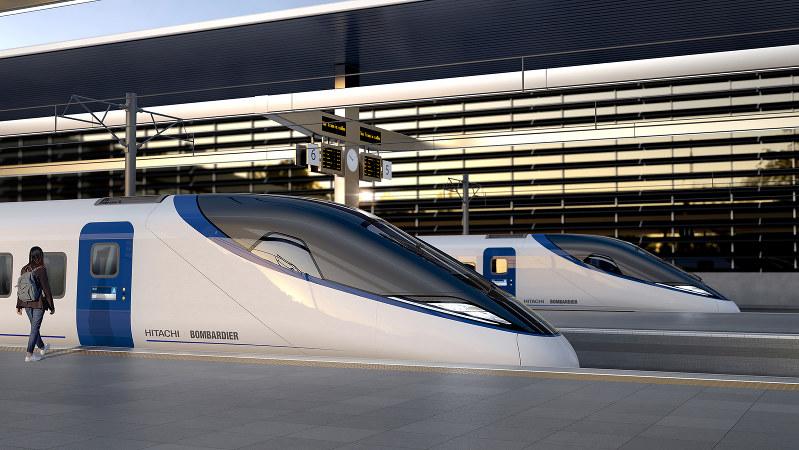 新幹線で培った技術は評価されるか(日立レールヨーロッパ提供)
