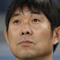 サッカー南米選手権【日本-ウルグアイ】日本の森保一監督=ブラジル・ポルトアレグレで2019年6月20日、AP