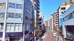 鶴見駅前の繁華街