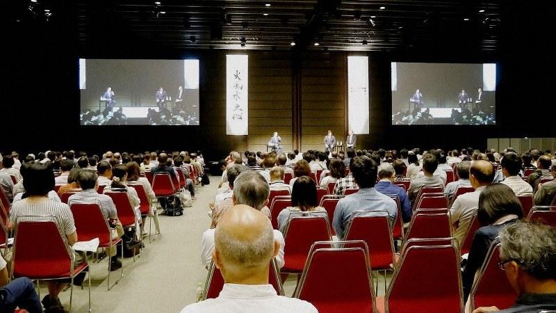 運用報告会では、運用担当者の生の声が聞ける(レオス・キャピタルワークスの説明会)