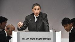 株主総会に臨む日産自動車の西川広人社長=日産自動車提供