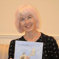 絵本「ちいさなあなたへ」の創作について語るアリスン・マギーさん