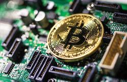 ビットコインなどの仮想通貨には機関投資家の関心も高まっている(Bloomberg)