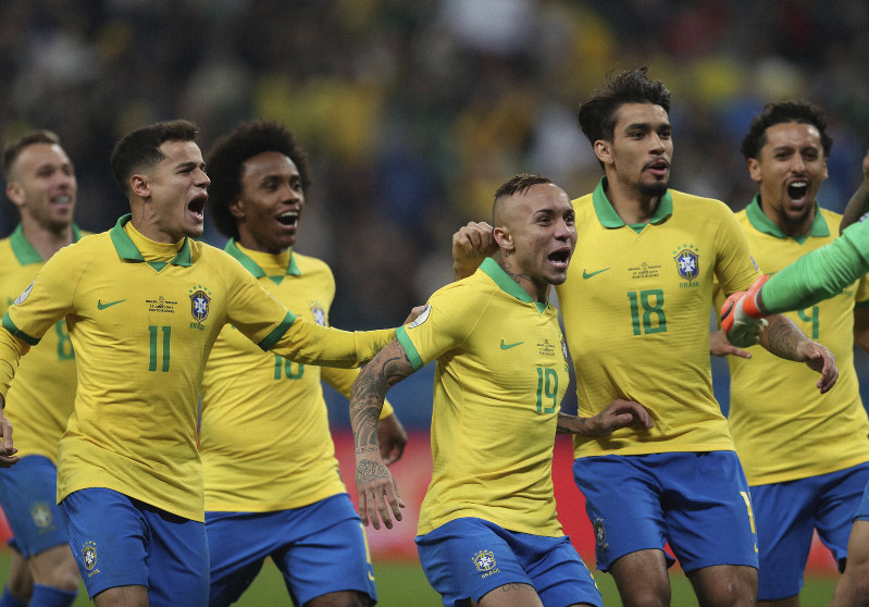 Image result for COPA America: Brazil beat paraguay 4-3 on penalties to reach semi-final