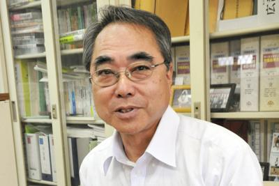 社民党県連代表・山田厚氏