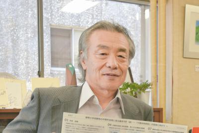 岐阜市教育委員会教育長・早川三根夫さん