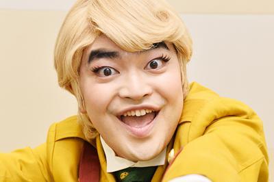 映画「パタリロ!」主演の加藤諒さん=大阪市北区で、加古信志撮影