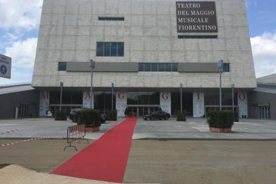 フィレンツェ歌劇場外観