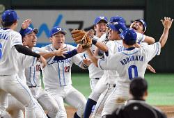 昨年優勝した大阪市・大阪ガス