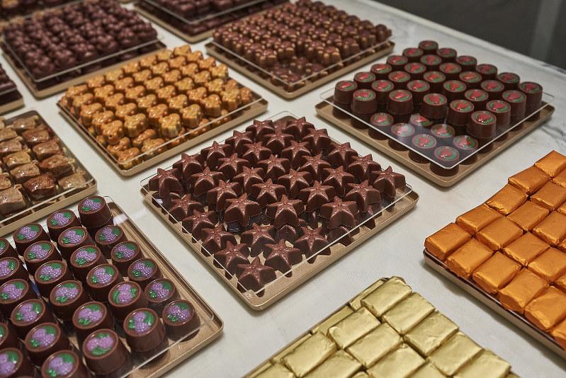 宝石のようなチョコレート(グラウィ社提供)