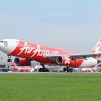 タイ・エアアジアXが福岡-バンコクで運航する機体