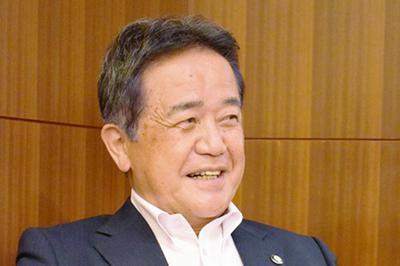 中国地区連盟副理事長の小屋敷繁さん=辻中祐子撮影