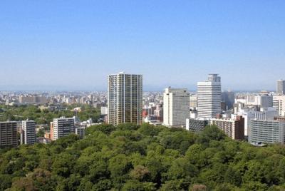 「ラ・トゥール札幌伊藤ガーデン」の外観=住友不動産提供(2017年6月、画像の一部を加工)