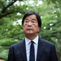 田中均氏=根岸基弘撮影