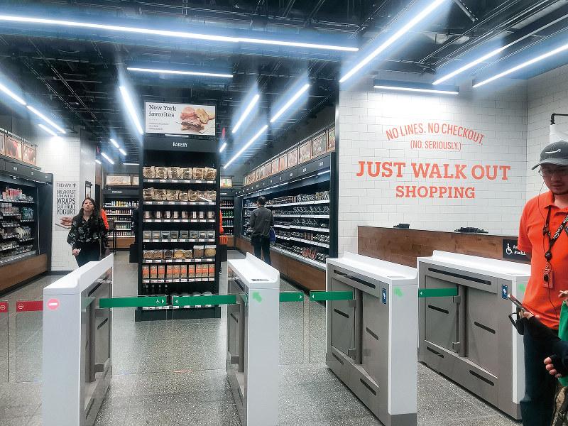 オープンしたマンハッタンの店舗(筆者撮影)