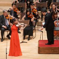 最高位2位を受賞したシャノン・リー=6月27日、日立システムズホール仙台コンサートホールで