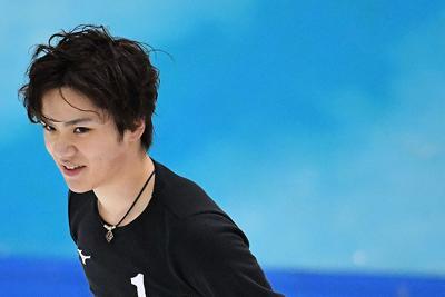 フィギュアスケートの全日本合宿で練習する宇野昌麿=愛知県豊田市で2019年7月15日、大西岳彦撮影