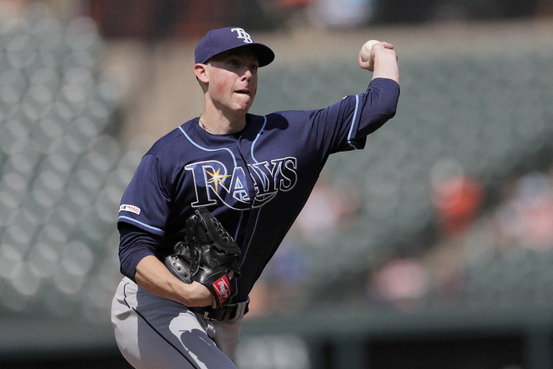 a3873f2e MLB: Rays carry combined perfect game into 9th, beat Orioles 4-1 ...
